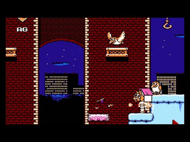 Darkwing Duck ( NES Hack by Emsi D amp amp Spiiin) - версия 2015