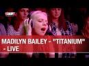 Madilyn Bailey Titanium Live C'Cauet sur NRJ