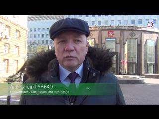 Активисты «ЯБЛОКА» выступили за отставку омбудсмена Московской области