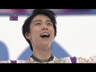Yuzuru HANYU FS - 2015 NHK Men мировой рекорд за обе программы в сумме 322, 40