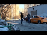Красавица повелась на машину ⁄ Gold Digger prank - YouTube