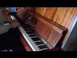 Ходячий замок на пианино (главная тема)