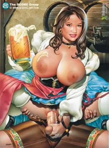 Порно рисунки большие сиськи