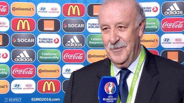 Дель Боске: Испания нацелена выиграть Евро в третий раз кряду