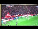 Эмоциональный комментатор матча Арсенал - Лестер