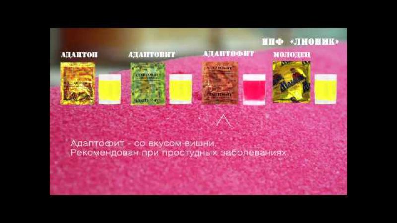Как производятся натуральные напитки Адаптон, Адаптовит, Адаптофит, Молодец