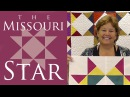 The Missouri Star Quilt Block Easy Quilting Tutorial with Jenny Doan of MSQC