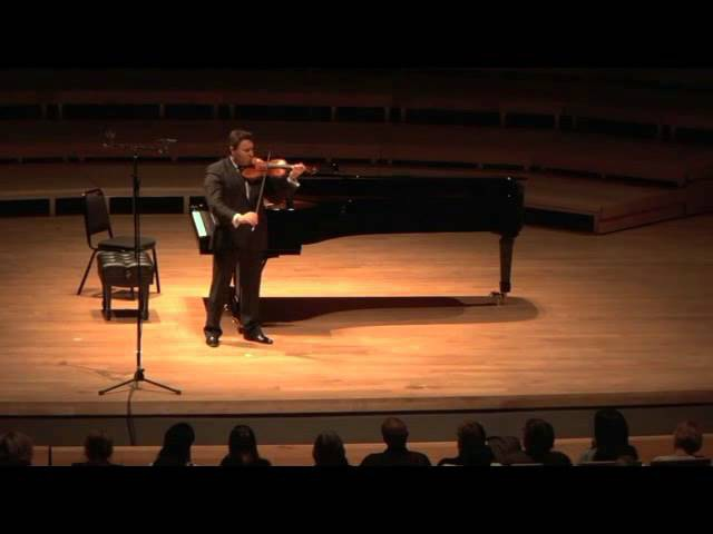 MAXIM VENGEROV AND PATRICE LARE - Partita for violin solo No. 2 in D minor BWV 1004 - S. BACH