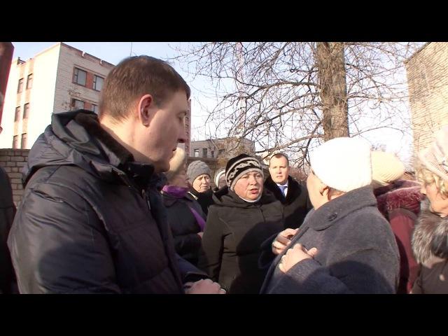 Хамское поведение Турчака на встрече в Дно!
