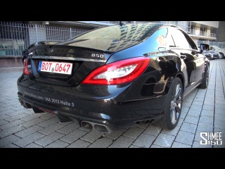 EXCLUSIVE: Brabus 850 Rocket CLS - Startup and Revs - IAA 2013