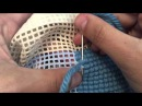 Como bordar Ponto Cruz na vertical