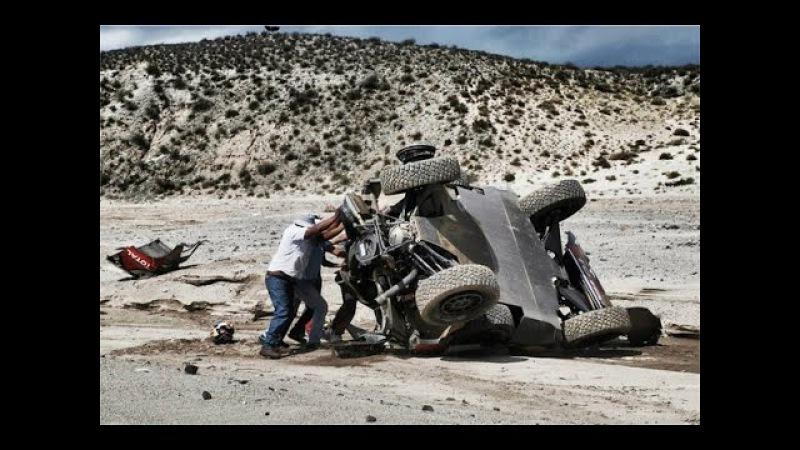 Dakar 2016 - Crash Compilation