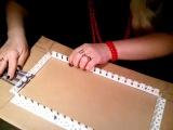 Приспособления в плетении из газеты