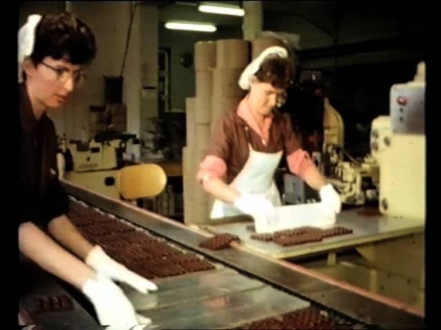 RITTER SPORT 1962: Ein Arbeitstag in der Firma