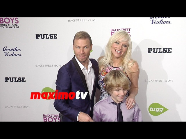 Brian Littrell Leighanne Wallace | Backstreet Boys Show 'Em What You're Made Of Premiere