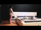 OHEA Smart Bed Makes Itself  (music