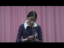 Тихая моя родина Н.Рубцов - читает в Николе Лу Вэнья на китайском языке. 23 января 2016 года.
