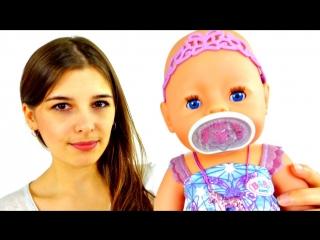 Видео для девочек. Знакомство с Беби Борн. Игры в куклы.