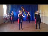Танець на огляд . 16 . 02 .. Кульчинківська ЗОШ /-// ст .