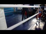 Мой 1 бой по боксу.
