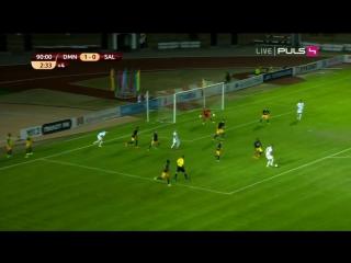 Dinamo (Mi) - Salzburg 2-0, all goals, 20.08.2015. HD