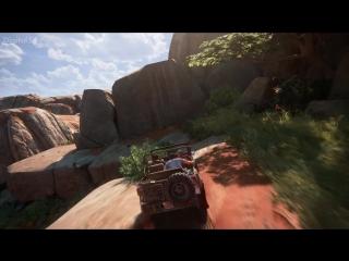 Uncharted 4: A Thiefs End - 18 минут игрового процесса из 10 главы