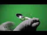 Реакция белка на спирт