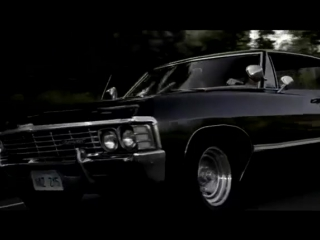 ACϟDC Back IN Black Supernatural Chevy Impala 67