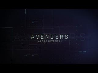 Marvel's Avengers: Age of Ultron UI Reel   Screen Graphics   Territory Studio