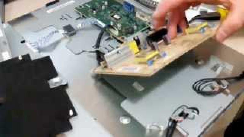 Жк монитор ремонт своими руками