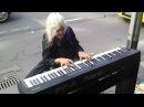 Natalie Iconic Melbourne Piano Street Performer Untitled original piece 21 1 2014