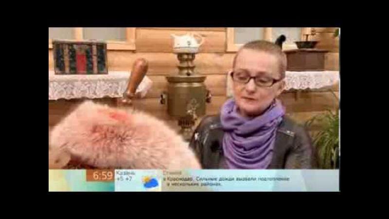 Сшить шарф из старого воротника (Sew a scarf from an old collar)