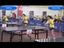 Exercise table tennis - just only in china!