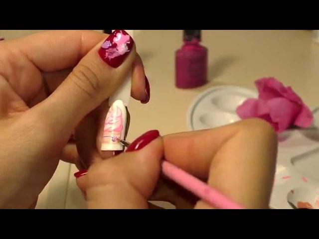 Рисуем пирожное гель-лаками LIANAIL. Дизайн ногтей