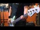 Blink 182 First Date Bass Cover On New Fender Mark Hoppus Bass 2011