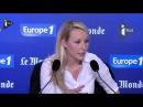 Marion Maréchal-Le Pen il faut ramener les migrants dans leurs ports d'origine