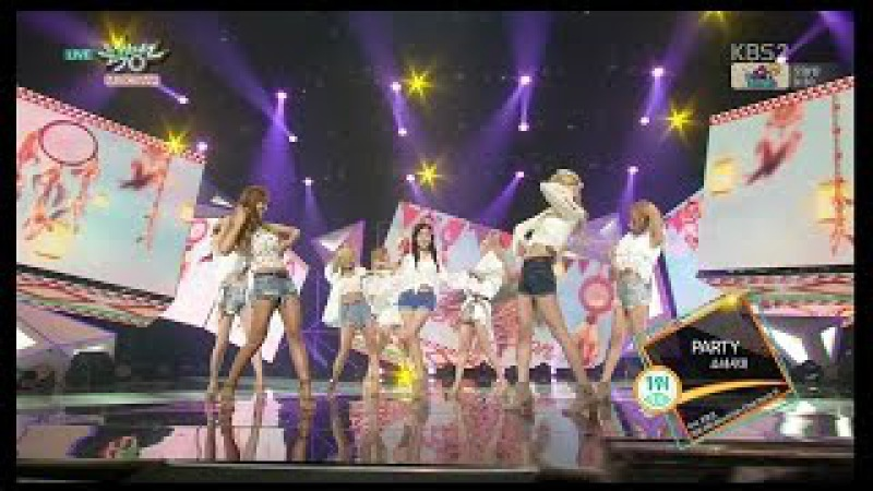 Girls' Generation 소녀시대_'PARTY'_KBS MUSIC BANK_2015.07.24