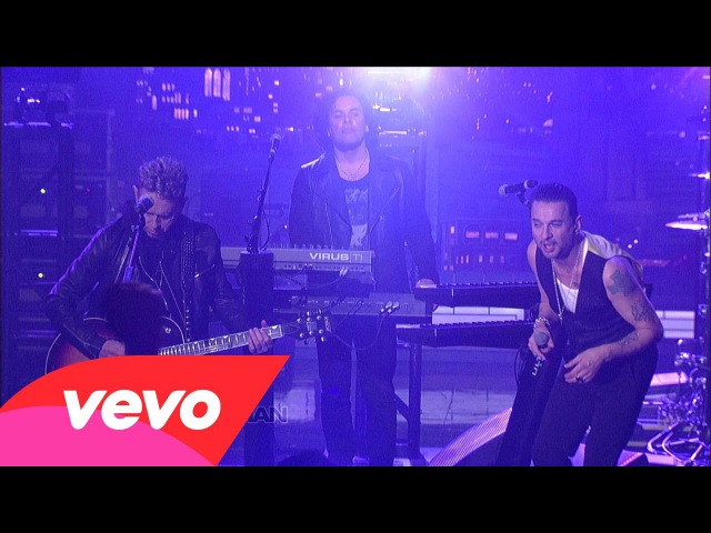 Depeche Mode Personal Jesus Live on Letterman