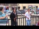 Индейцы в москве и выступление бомжа танцора