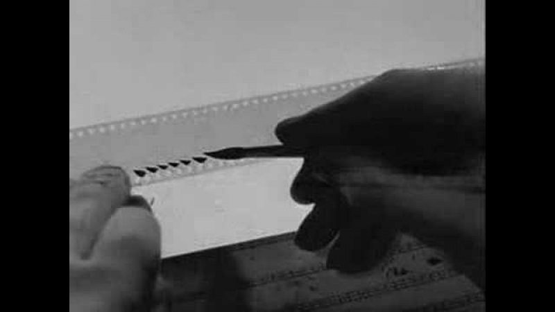 Norman McLaren Pen Point Percussion