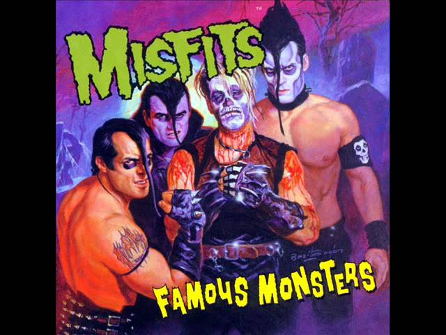 The Misfits A full Famous Monsters 1999