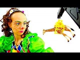 Funny videos for kids & adults! Toy play. Смешные видео с клоунами для детей. Новое 2016