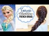 ❄ Frozen Elsa's French Braid Hairstyle ❄ Hair Tutorial