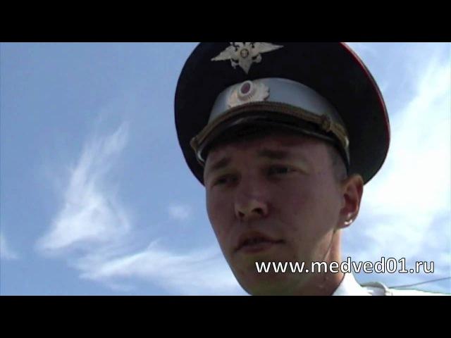 ИДПС Юдин из г. Ирбит охраняет саммит ШОС