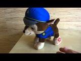 Мягкая игрушка щенок Гоншик ходит и поет (Щенячий патруль)