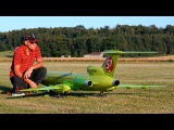 TUPOLEV TU-154-M S7 SIBERIA AIRLINES GIANT RC AIRLINER MODEL JET DEMO FLIGHT  RC Airshow 2015