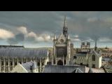 Reconstitution 3D de la Sainte-Chapelle et du palais royal de la Cité au XIVème siècle| History Porn