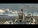 Reconstitution 3D de la Sainte-Chapelle et du palais royal de la Cité au XIVème siècle  History Porn