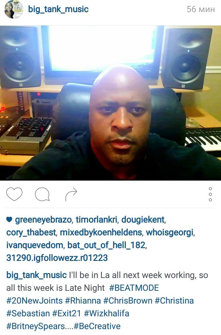 Xtina trabajando con productor Big Tank DwfBsK42PdI
