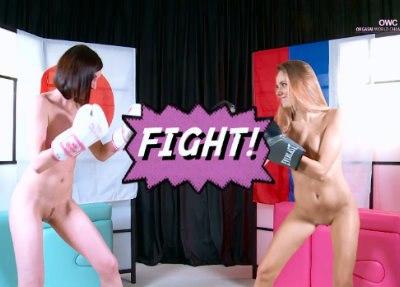 Katya Clover vs Sade Mare - Japan VS Russia